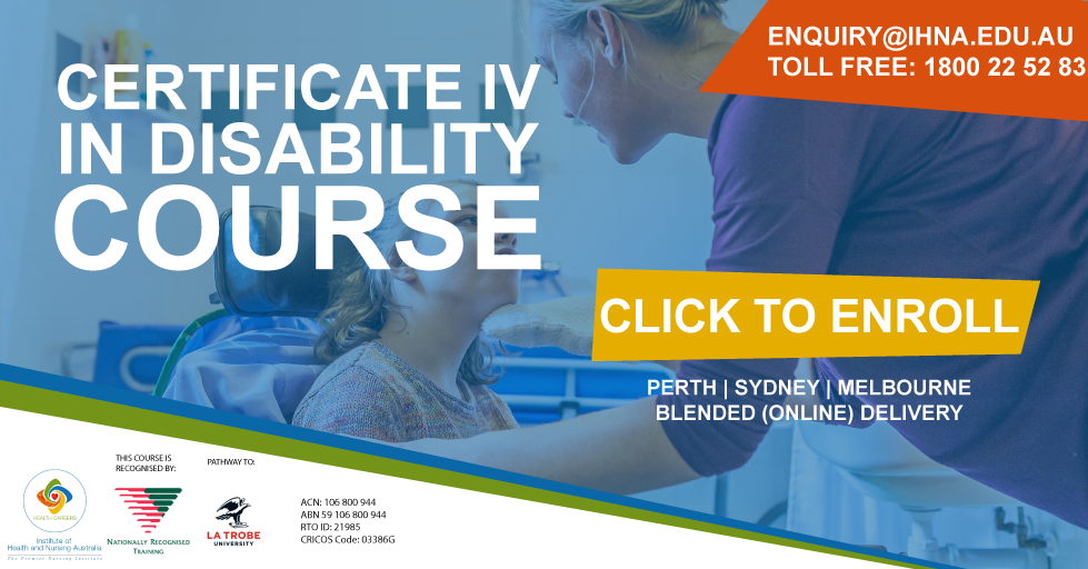 Certificate IV in Disability Course