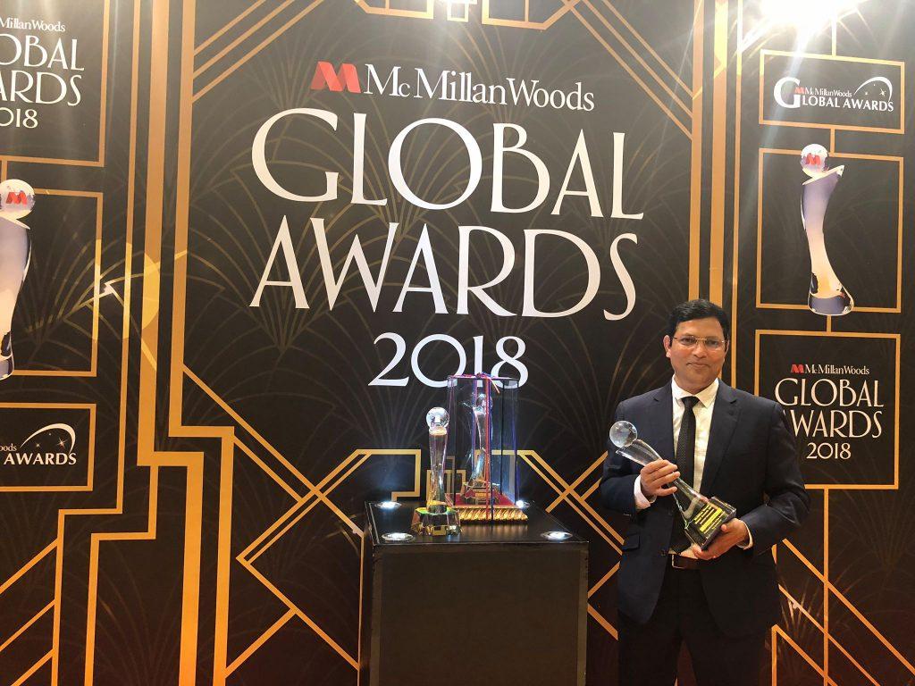 Bijo Kunnumpurath - McMillan Woods Global Awards 2018