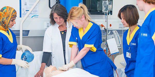 Study Diploma of Nursing in Melbourne, Australia | IHNA