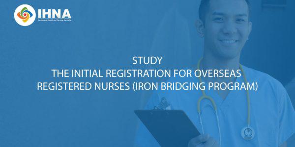 Initial Registration for Overseas Registered Nurses - IRON Program