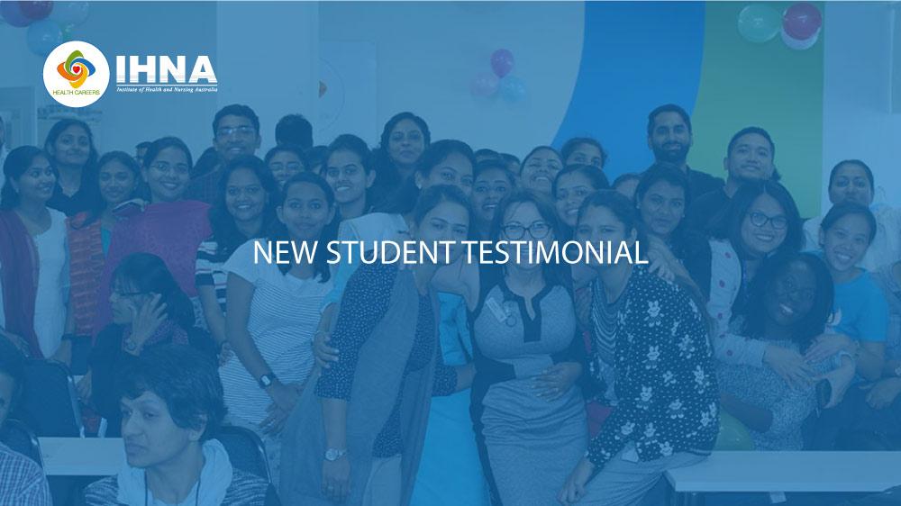 New Student Testimonials at IHNA
