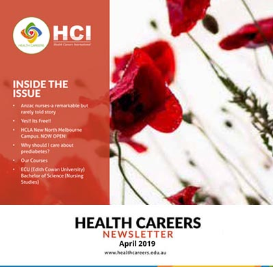 Health Careers Newsletter April 2019 Edition