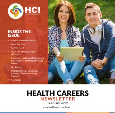 Health Careers Newsletter February 2019 Edition