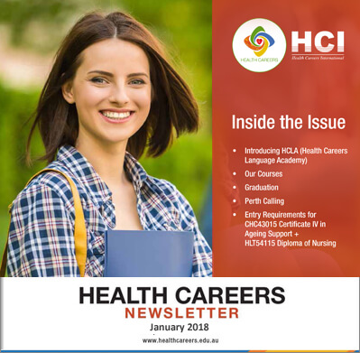 Health Careers Newsletter January 2018 Edition