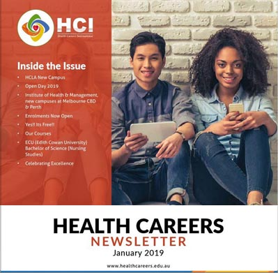 Health Careers Newsletter January 2019 Edition