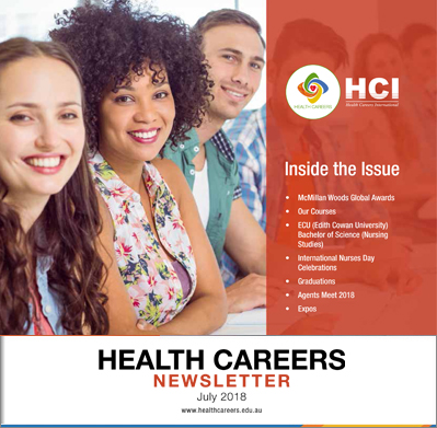 Health Careers Newsletter July 2018 Edition