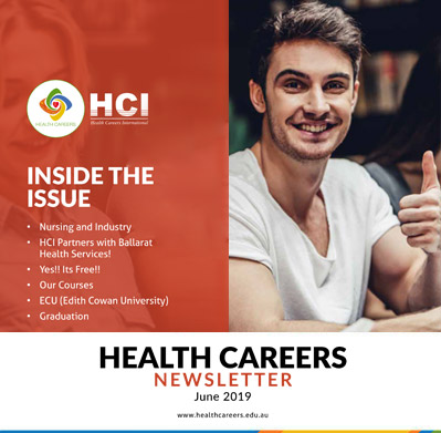 Health Careers Newsletter June 2019 Edition