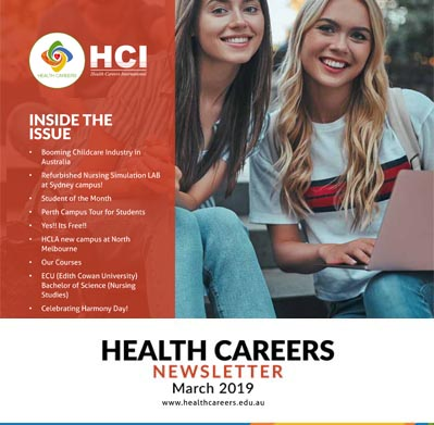 Health Careers Newsletter March 2019 Edition