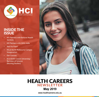 Health Careers Newsletter May 2019 Edition