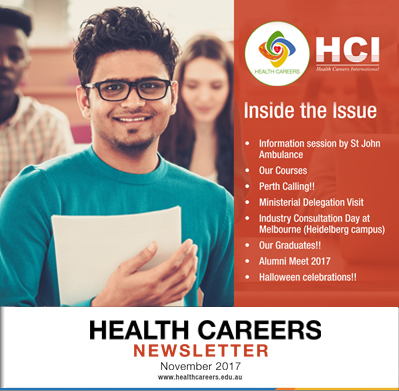 Health Careers Newsletter Novemder 2017 Edition