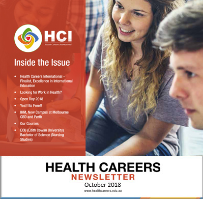 Health Careers Newsletter October 2018 Edition