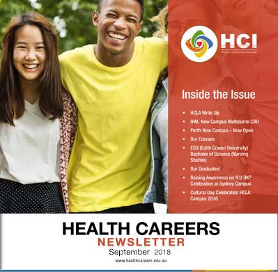 Health Careers Newsletter September 2018 Edition