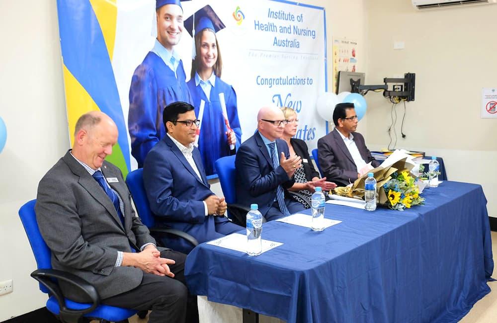 Graduation Ceremony - Diploma of Nursing (Batch -15VDONC1) (IHNA)