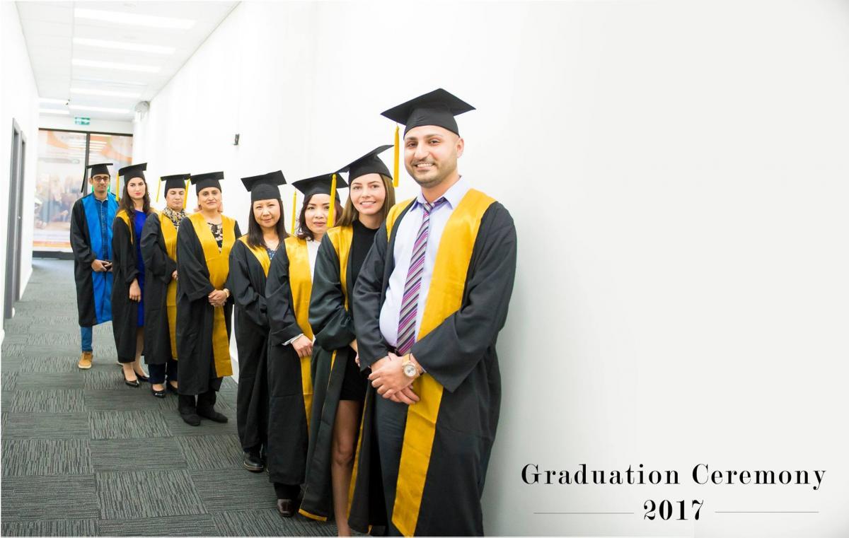 Sydney Campus Graduation Event 2017 (IHNA)